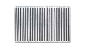 "Vibrant Performance Vertical Flow Intercooler Core, 18"" Wide x 6"" High x 3.5"" Thick"
