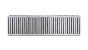 "Vibrant Performance Vertical Flow Intercooler Core, 24"" Wide x 6"" High x 3.5"" Thick"