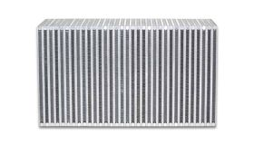 "Vibrant Performance Vertical Flow Intercooler Core, 18"" Wide x 12"" High x 6"" Thick"