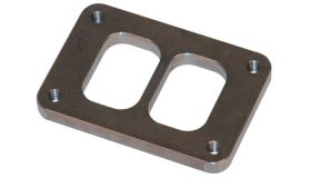 """Vibrant Performance T04 Turbo Inlet Flange (Divided Inlet) - 1/2"""" thick"""