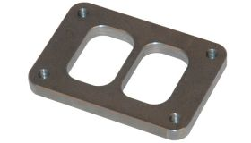 """Vibrant Performance T06 Turbo Inlet Flange (Divided Inlet) - 1/2"""" thick"""