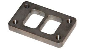 """Vibrant Performance T03 Turbo Inlet Flange (Divided inlet) - 1/2"""" thick"""